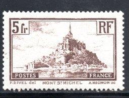 YT 260 TYPE I  NEUF  * AVEC RESTE DE CHARNIERE COTE 27.50 € - Francia