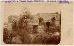 GOUGNIES - Vieux Haut Fourneau - Méthode Catalane (ruines) - Carte-photo - België