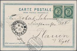 "Russische Post In Der Levante - Staatspost: 1899, 2 K. Pair Tied ""ROPIT CONSTANTINOPOLI 24 IV 99"" To - Levant"