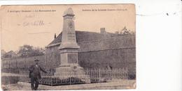 CP.Aubigny.Somme.Monuments Des Soldats De La Grande Guerre - Francia