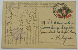 CARTOLINA IN FRANCHIGIA 1917 IV ARMATA  (AX50 - 1900-44 Victor Emmanuel III