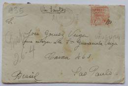 LETTERA 1935 URUGUAY MONTEVIDEO (AX169 - Uruguay