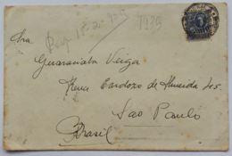 LETTERA 1935 URUGUAY MONTEVIDEO DIRETTA BRASILE (AX182 - Uruguay