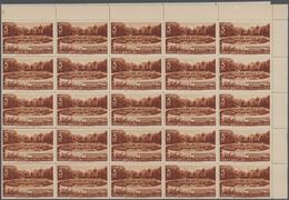 Spanien - Zwangszuschlagsmarken Für Barcelona: 1936, Barcelona Fair Complete Set Of Five Showing Dif - Impuestos De Guerra