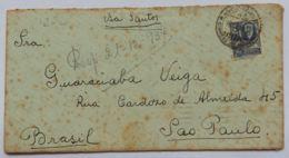 LETTERA URUGUAY 1937 MONTEVIDEO -SEGNI DEL TEMPO (AX204 - Uruguay