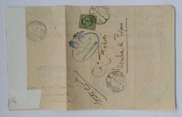LETTERA 1929 C.25 TIMBRO TOMBA DI PESARO -SALUDECIO (AX281 - 1900-44 Victor Emmanuel III