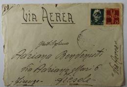 LETTERA 1943 15+75 PA TIMBRO FIESOLE (AX299 - 1900-44 Victor Emmanuel III