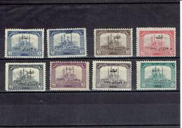 TURQUIE SERIE N°654/661 - XX - N°654 - 660 SIGNES - 1922 - 1921-... République