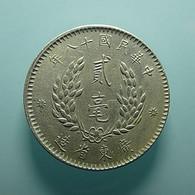 China Kwangtung Province 20 Cents 1929 Silver - China