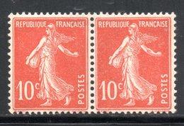 PAIRE YT 138  NEUF ** SANS CHARNIERE COTE 7 € - Francia