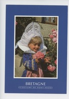 Bretagne : Costume De Pont-Aven - Fillette En Costume De Fouesnant (n°4317) - Fouesnant