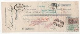 TRAITE MANUFACTURE DE CHAPEAUX MERINOS DELMAS & PONT QUILLAN AUDE 1934 / LASMAYOUS CHAPELLERIE A MENDE LOZERE - Kleding & Textiel
