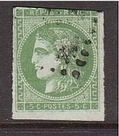 FRANCE Cérès De Bordeaux 5c. Touché - 1870 Uitgave Van Bordeaux
