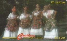 PHONE CARD- ST.LUCIA (E56.32.3 - Santa Lucía