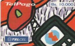 PREPAID PHONE CARD- VENEZUELA (E56.33.4 - Venezuela