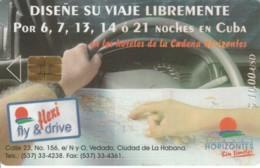 PHONE CARD- CUBA (E56.35.7 - Cuba