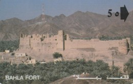PHONE CARD- OMAN (E56.38.3 - Oman