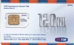 GSM WITH CHIP ITALIA TIM (E56.40.2 - [2] Handy-, Prepaid- Und Aufladkarten