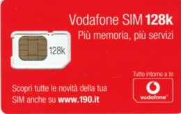 GSM WITH CHIP ITALIA VODAFONE (E56.40.6 - [2] Handy-, Prepaid- Und Aufladkarten