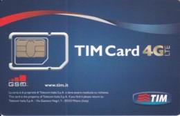 GSM WITH CHIP ITALIA TIM (E56.40.7 - [2] Handy-, Prepaid- Und Aufladkarten