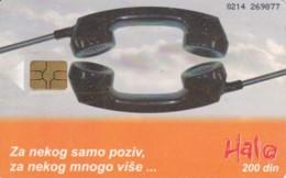 PHONE CARD- SERBIA (E56.43.5 - Joegoslavië