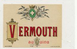 AN 888 / ETIQUETTE -  VERMOUTH AU QUINA     N° 340 - Etiquettes