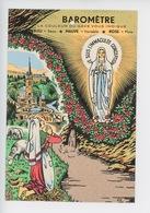 Lourdes : Barometre La Couleur Du Gave Vous Indique.... (Bernadette Basilique Apparition) Cp Vierge - Lourdes