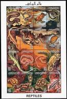 1996 Libya Reptiles Minisheet (** / MNH / UMM) - Reptiles & Batraciens