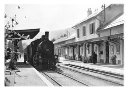 DIVONNE-LES-BAINS - La Gare En 1961 - Divonne Les Bains
