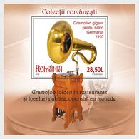 Romania 2019 - Romanian Collections Gramophones Miniature Sheet Mnh - 1948-.... Repúblicas