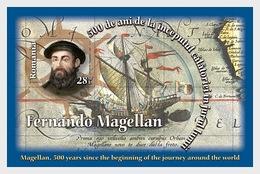 Romania 2019 - Magallanes, The Beginning Of The Journey Around The World Miniature Sheet Mnh - 1948-.... Repúblicas
