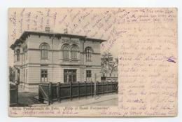 CPA ROMANIA ROUMANIE SCOLA PROFESIONALA DE FETE FILIP SI RASEL FOCSANENU DETAILS - Roumanie