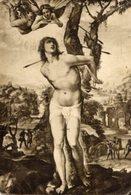 """Firenze - Cartolina Antica, SAN SEBASTIANO, Di G. A. Bazzi """"Il Sodoma"""", Anno 1940, Galleria Pitti, Foto Alinari - R23 - Religione & Esoterismo"""