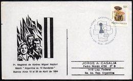 CHESS - ARGENTINA BUENOS AIRES 1994 - MATCH DE AJEDREZ: ARGENTINA VS. 10 BANDERAS - Scacchi