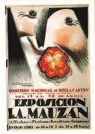 Centenaire Mauzan, 1983, Affiche Exposition Mauzan (Beaux Arts Buenos Aires),  Edit 1000 Exemp N° 704 (Timbrée) - Mauzan, L.A.
