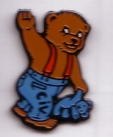 B33 Pin's Bear OURS OURSON CIV Peluche Achat Immédiat - Animaux