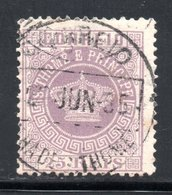 YT 12 DENT 12 1/2 A -  OBLITERE 1885 - St. Thomas & Prince