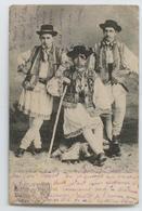 CPA 1904 ROMANIA ROUMANIE COSTUMES TYPIQUES REGIONAUX ABE - Roumanie