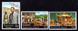 ASCENSION - 1977 SILVER JUBILEE SET (3V) FINE MNH ** SG 222-224 - Ascension