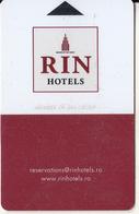 ROMANIA - RIN, Hotel Keycard, Used - Hotelsleutels (kaarten)