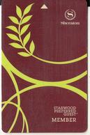 USA - Sheraton, Hotel Keycard, Used - Hotelsleutels (kaarten)