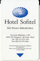BRAZIL - Sofitel, Hotel Keycard, Used - Hotelsleutels (kaarten)