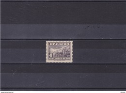 ANDORRA 1951 Yvert PA 1 NEUF** MNH Cote : 30 Euros - Andorre Espagnol