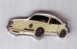 L08 Pin's PORSCHE BLANCHE Achat Immédiat - Porsche