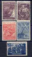 RUSSIE - 866/870**  - POUR LA DEFENSE NATIONALE - 1923-1991 USSR