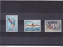 ANDORRE ESPAGNOL 1972  Yvert 69-71 NEUF** MNH - Spanisch Andorra