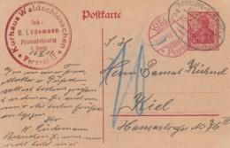 Deutsches Reich Postkarte 1919 - Gebraucht