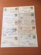 +++ Sammlung 10 Postkarten Ukraine Usw Ab 1885 +++ - Stamps