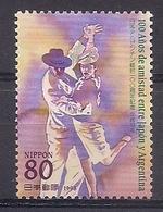JAPON 1998 - RELACIONES CON ARGENTINA - EL TANGO - YVERT Nº 2494** - Dance