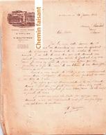 Document Du 20/01/1932 CHATEAU TERTRE-DAUGAY GOUTEYRON - St-Emilion 33 - Frankrijk